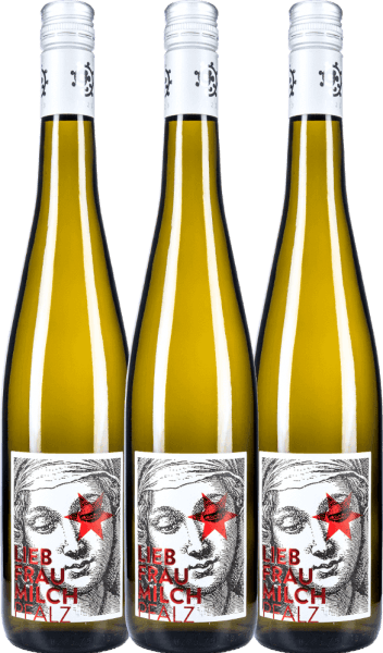3er Vorteils-Weinpaket - Liebfraumilch 2020 - Weingut Hammel
