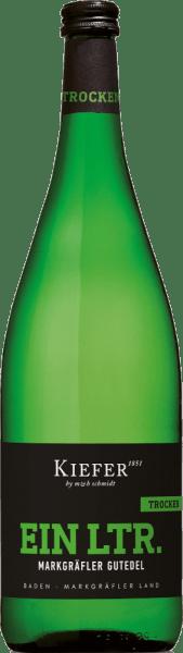 Markgräfler Gutedel trocken 1,0 l 2020 - Weingut Kiefer