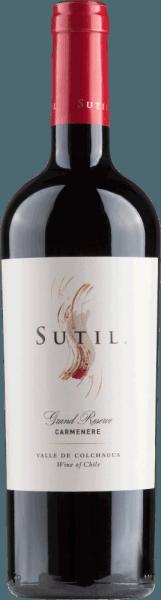 Carmenère Grand Reserve Colchagua Valley 2016 - Sutil Family Wines