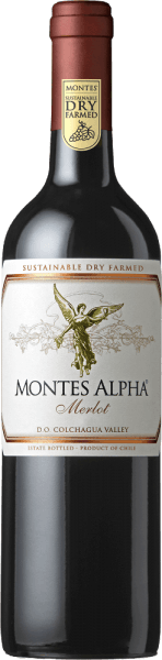 Montes Alpha Merlot 2018 - Montes