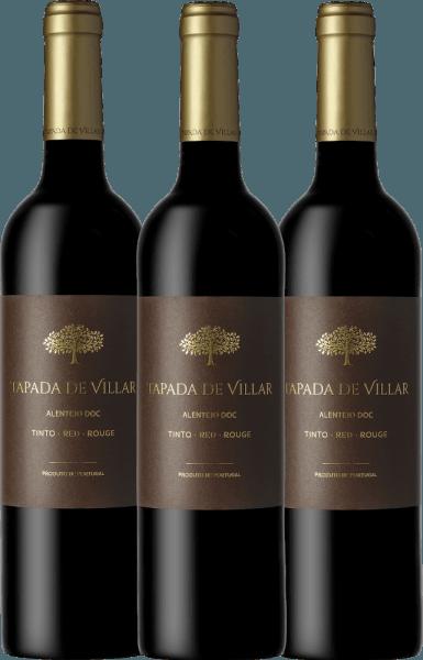 3er Vorteils-Weinpaket Tapada de Villar Tinto 2019 - Quinta das Arcas