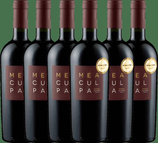 6er Vorteils-Weinpaket - MEA CULPA Vino Rosso Italia - Cantine Minini