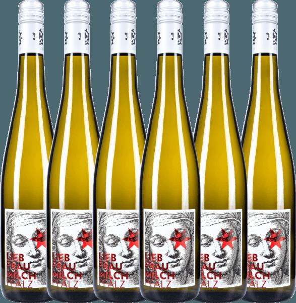 6er Vorteils-Weinpaket - Liebfraumilch 2020 - Weingut Hammel