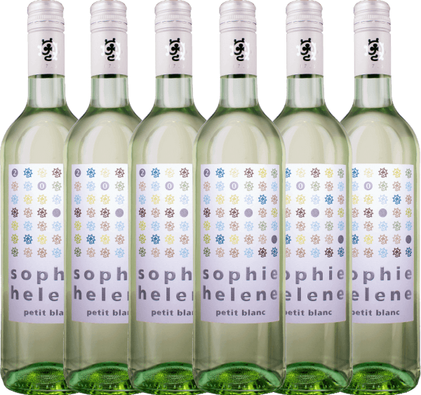6er Vorteils-Weinpaket - Sophie Helene petit blanc 2020 - Weingut Hammel