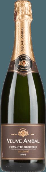 Millésimé Brut Crémant de Bougogne AOC 2018 - Veuve Ambal