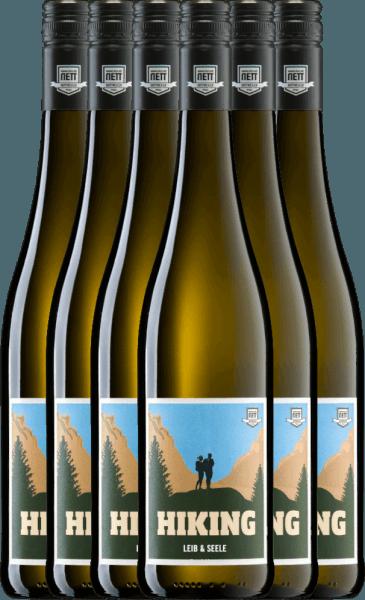 6er Vorteils-Weinpaket - Hiking Leib & Seele Cuvée feinherb 2020 - Bergdolt-Reif & Nett