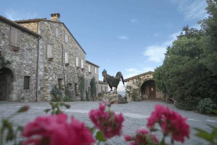 Das Gut von Rocca delle Macie