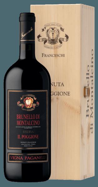 Vigna Paganelli Brunello di Montalcino Riserva DOCG 1,5 l Magnum in OHK 2012 - Tenuta il Poggione