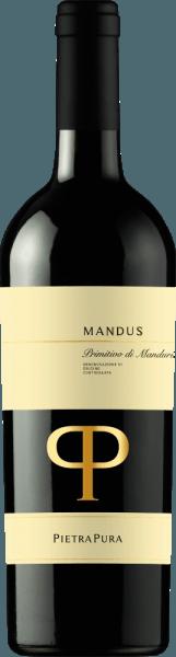 Farba krásne štruktúrovaného Mandus Primitivo di Manduria z Pietra Pura je tmavočerešňová. V pohári toto červené víno z Talianska veľmi intenzívne vonia ovocnými kyslými čerešňami, slivkami a kassou, zvýraznenými ľahko praženými tónmi. Na poschodí sa Mandus Primitivo vyznačuje sladkými taninami a jemnou chuťou. Harmonicky integrovaný vanilkový tón a jemné drevené nuansy dopĺňajú chuť. Vinifikácia Mandus Primitivo di Manduria DOC Mandus Pietrou Purou Pietra Pura linka je výsledkom spolupráce medzi Rocca delle Macie, Zingarelli rodinné vinárstvo a Terre di Sava vinárstvo v Puglia. Hrozno tohto čistého Primitiva sa zbiera v oblasti San Marzano. Po fermentácii pri kontrolovanej teplote sa červené víno jemne lisuje a oddeľuje od šupiek a semien. Potom zreje dobré štyri mesiace vo francúzskych dubových sudoch. Odporúčané jedlo pre Mandus Primitivo Serve Mandus Primitivo di Manduria z Pietra Pura pri 16-18°C s mäsovými omáčkami, zverinou a tvrdým syrom. Toto víno sa hodí aj k baklažánom pečeným s parmezánom.