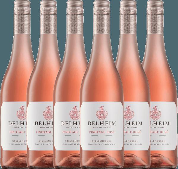 6er Vorteils-Weinpaket - Delheim Pinotage Rosé 2021 - Delheim