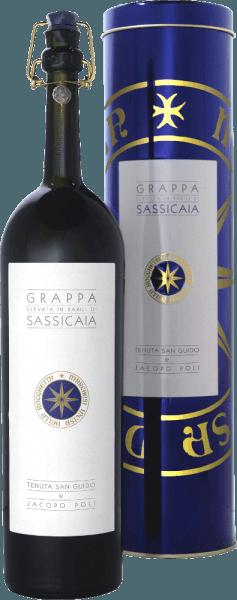Grappa Elevata in Barili di Sassicaia 0,5 l in GP - Jacopo Poli