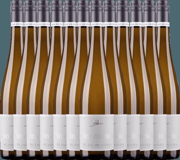 12er Vorteils-Weinpaket - Blanc de Noirs eins zu eins 2020 - A. Diehl