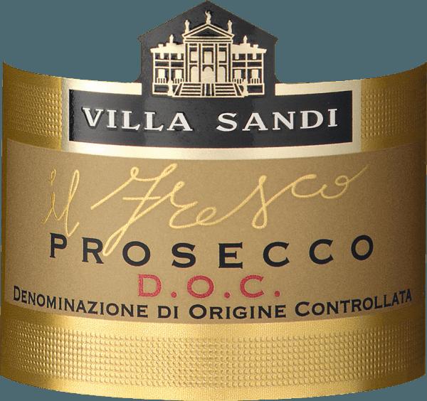 """Villa Sandi Prosecco il Fresco Il Fresco Prosecco Spumante DOC Brut by Villa Sandi bol niekoľkokrát zvolený Prosecco roka (Weinwirtschaft - Meininger Verlag). Je to a zostáva naozaj vynikajúce, chrumkavo-ovocné odporúčanie! """"Großes Traubenkino""""píše časopis GQ. Prosecco il fresoje to pravé Prosecco pre ďalšiu rodinnú oslavu, ten správny aperitív pre zodpovedajúcu ochutnávku vína alebo jednoducho pekné jedlo. Jeden z bestsellerov Prosecca spoločnosti VINELLO. Ochutnávka Villa Sandiil Fresco Prosecco Spumante DOC BRUT Dodáva sa v slamenej žltej farbe s extrémne jemným, jemným a hodvábnym perlage a dlhotrvajúcim, čerstvým mousseux.Il Frescoznamená """"čerstvosť""""! V nose a na poschodí sa objavujú vône čerstvých jabĺk Granny Smith a hrušiek Williams, ako aj melónu melónového. V ústach vyzerá sviežo a šumivé a vie, ako presvedčiť s jeho dokonalou sladkosť/kyslosť hry. Jednoducho veľkolepý, dokonale vyrobený Prosecco spumante, ktorý vytvára dobrú postavu ako aperitív aj ako doplnok ľahkých jedál. Villa Sandi Prosecco il fresco Awards Desaťkrát za sebou získalo Il Fresco vily Sandi ocenenie Prosecco roka od obchodného časopisu """"Weinwirtschaft"""". Mundus Vini 2014: Zlato previlu Sandi Prosecco il fresco Vinársky priemysel: Prosecco des Jahres 2015, 2014, 2013, 2012,2011, 2010, 2009, 2007, 2006 a 2004 anajlepšie šumivé víno v Taliansku 2008 """"Zdá sa takmer neporaziteľný ako Prosecco Spumante v nemeckom špecializovanom obchode. Stabilná kvalita a špičkové vybavenie. """""""
