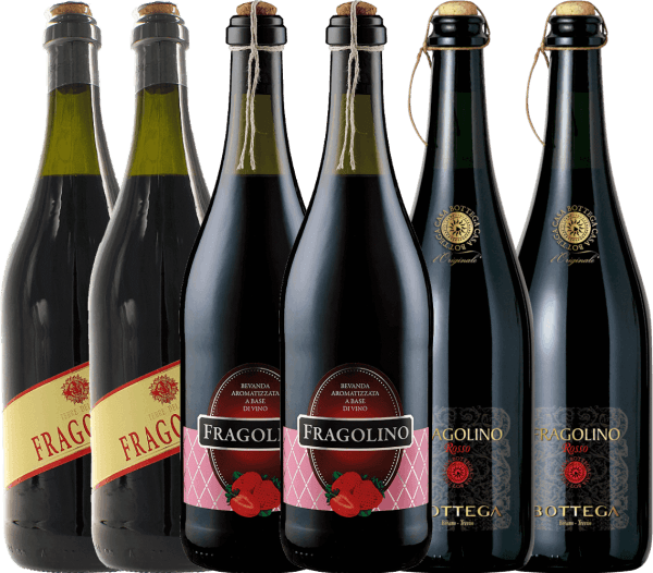 6er Probierpaket - erdbeer-fruchtiges Trinkvergnügen mit Fragolino